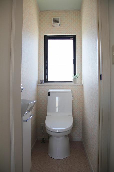 カラフルなトイレ