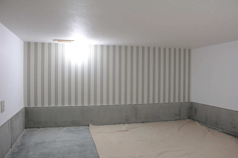 家の基礎部分を有効に活用した床蔵