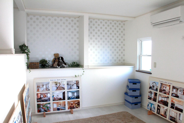 床蔵の上の部屋は 他の部屋の空いたスペースを利用して 収納を確保