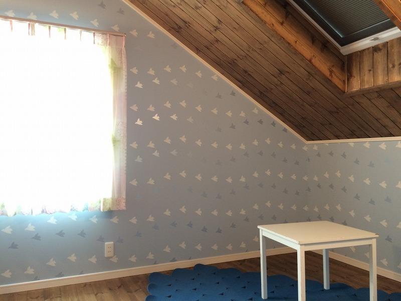 中2階の寝室