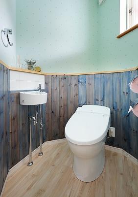 デザインにこだわったトイレ