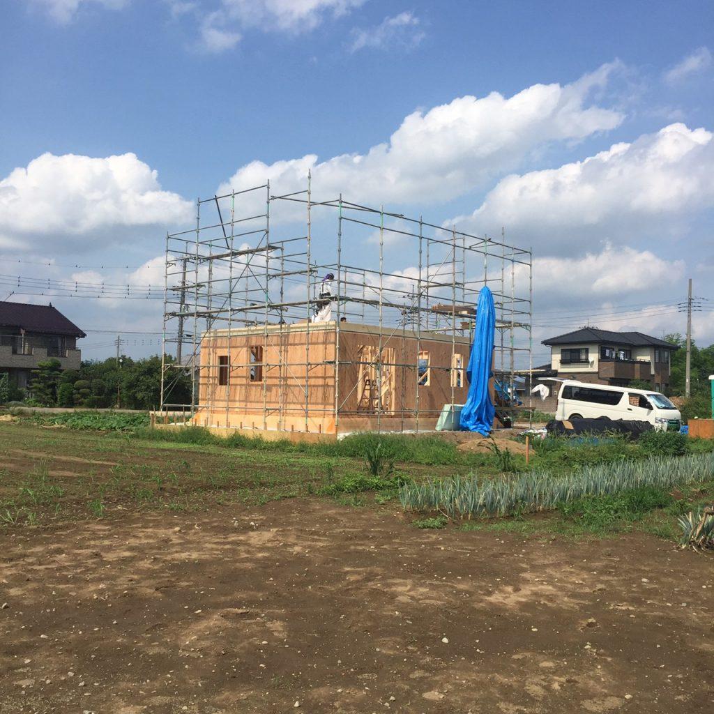 建て方工事